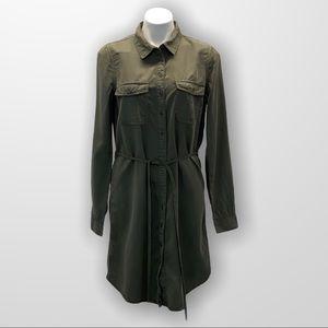 2016 PARASUCO Utility Shirt Dress Size Medium